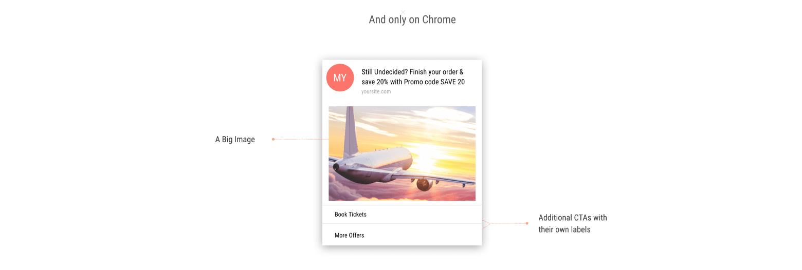 chrome - web push notification example
