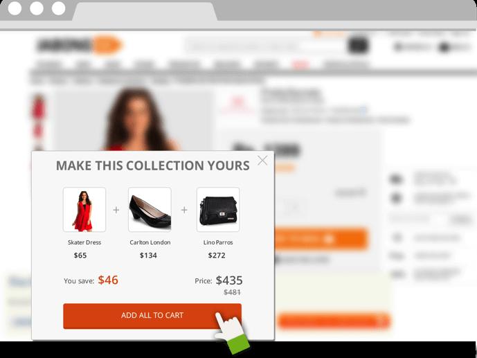 Bundled offering sales tip