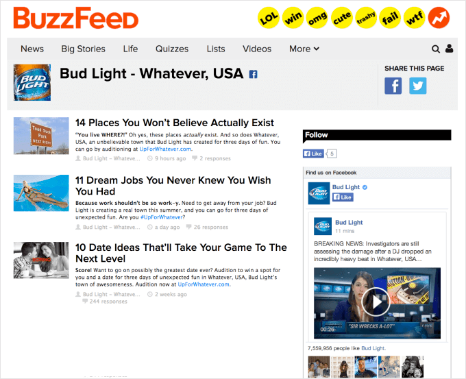 Buzzfeed titles