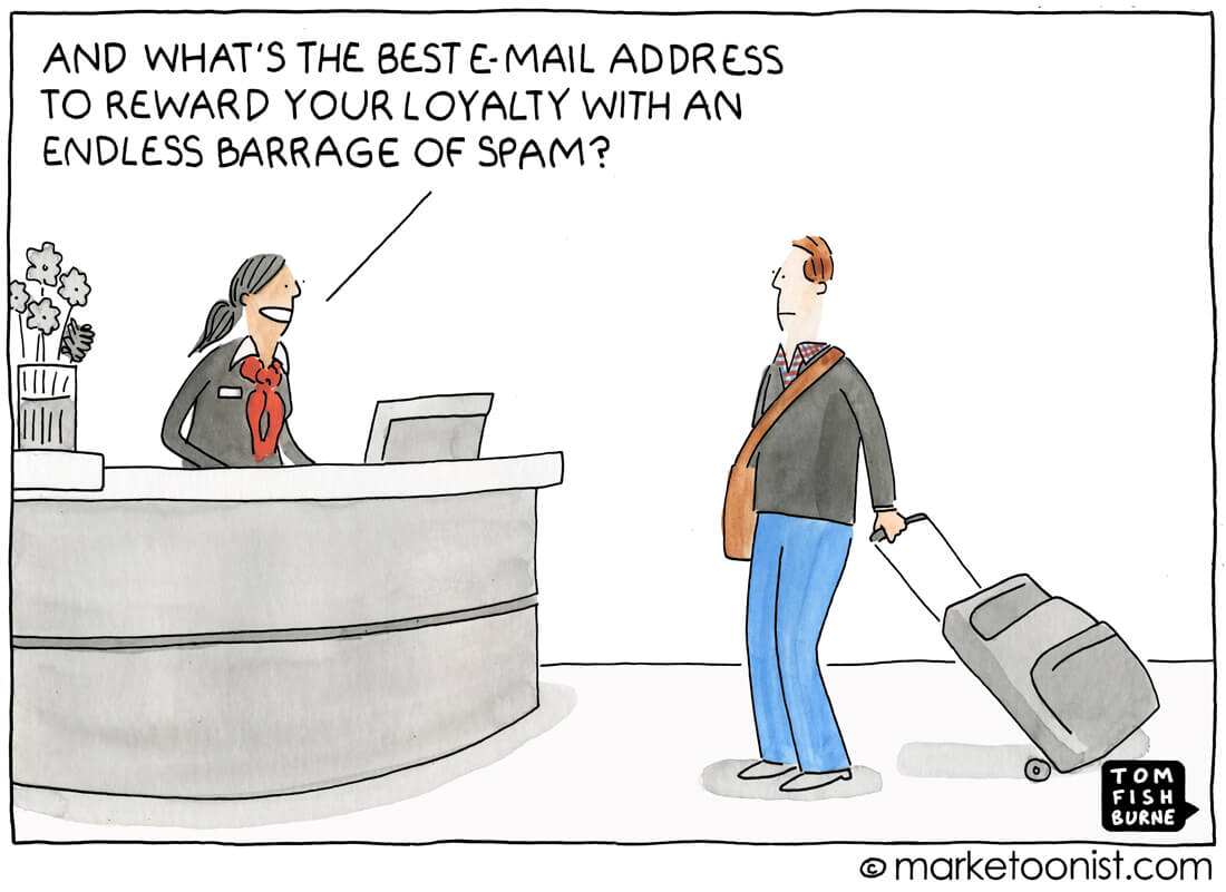 marketoonist email marketing spam cartoon