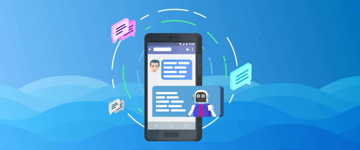 Chatbots with marketing automation