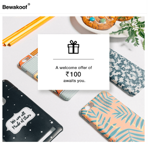 bewakoof offer email