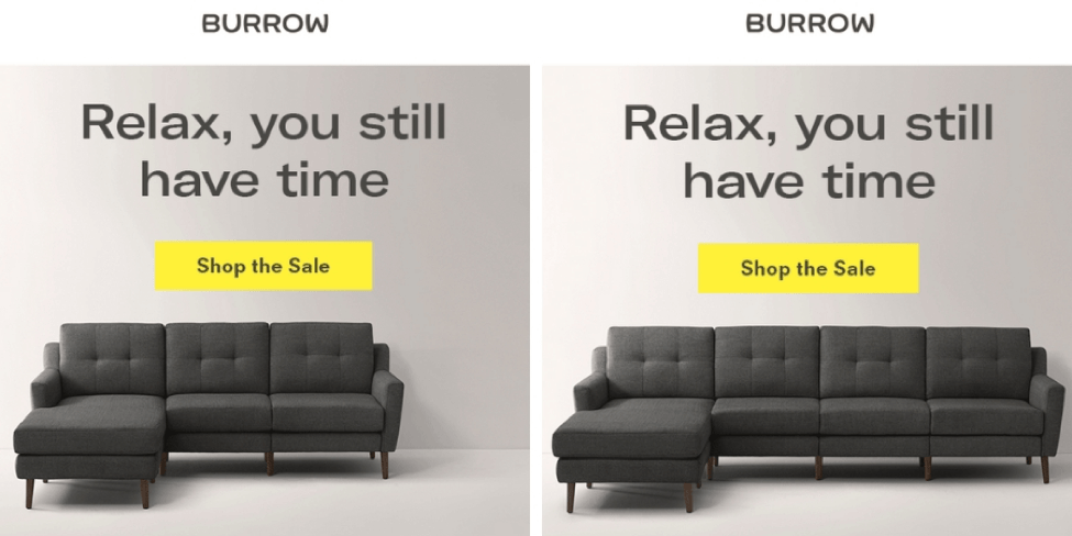 burrows promotional email