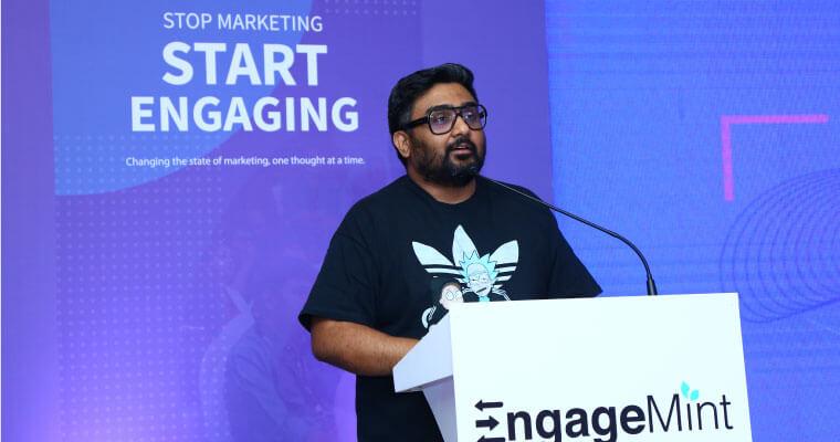 EngageMint 2018 bangalore kunal shah
