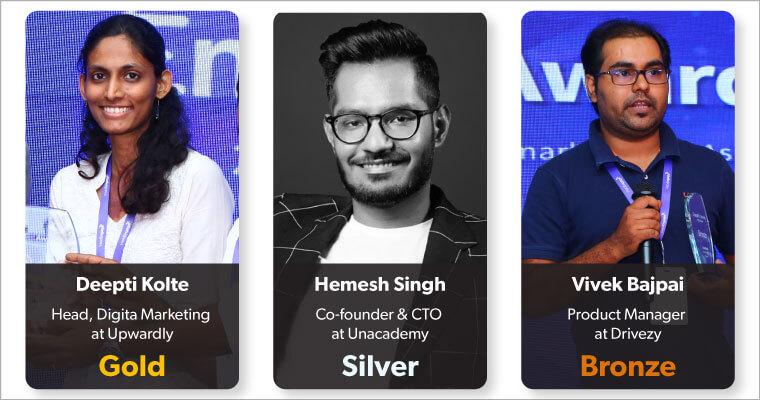 EngageMint 2018 bangalore awards
