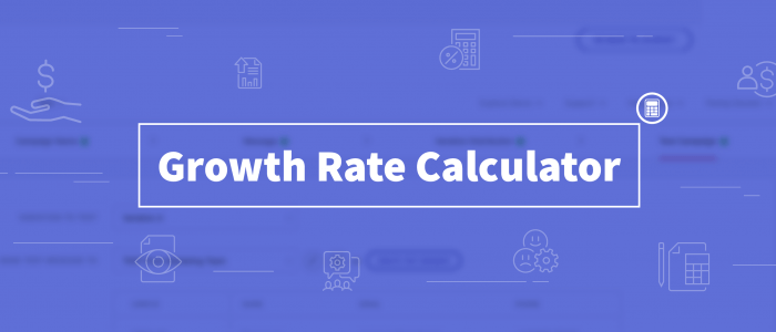 Growth Rate Calculator - By What Percentage Are Users Growing On Your Platform?