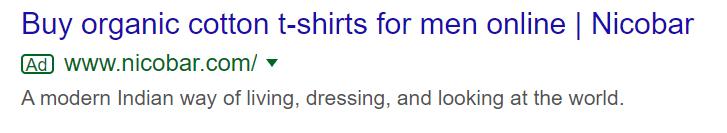 Google search network