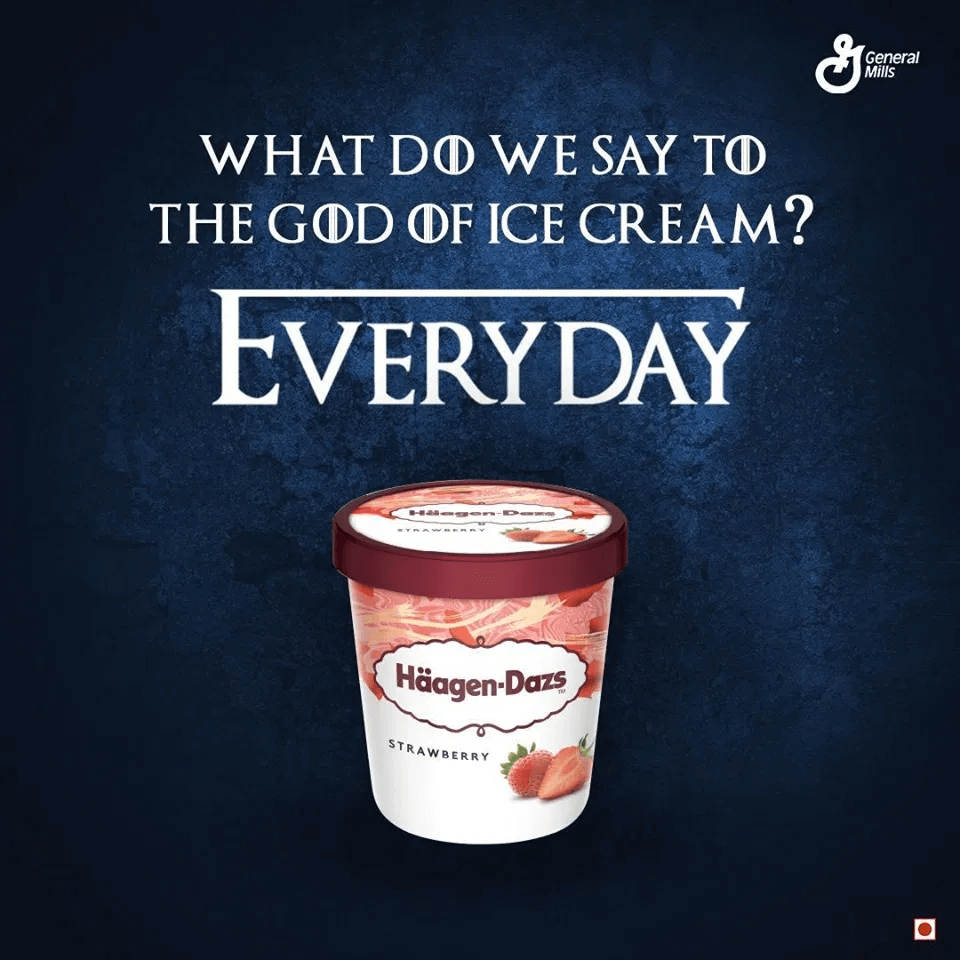 Haagen-dazs moment marketing example