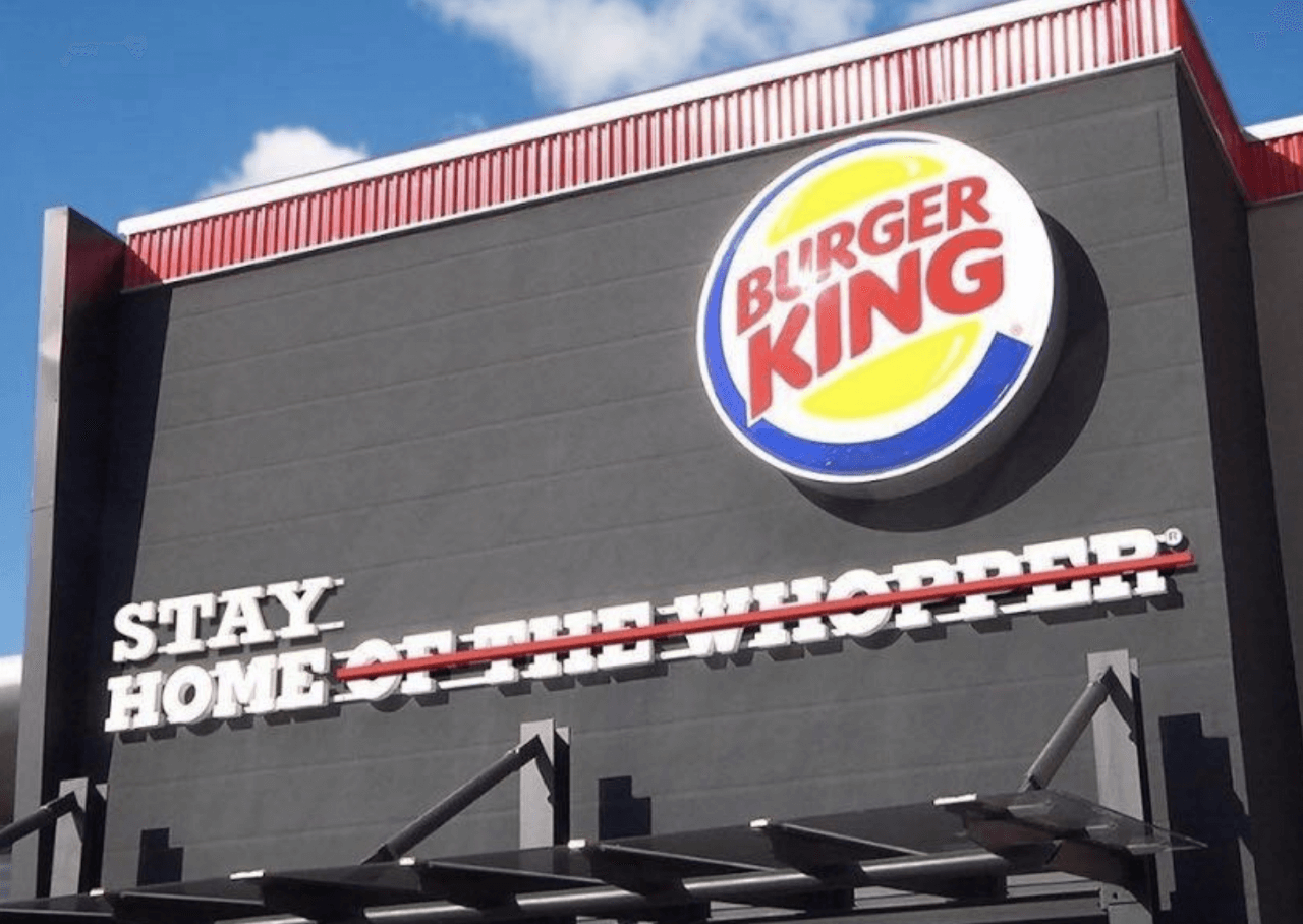 Burger King moment marketing example
