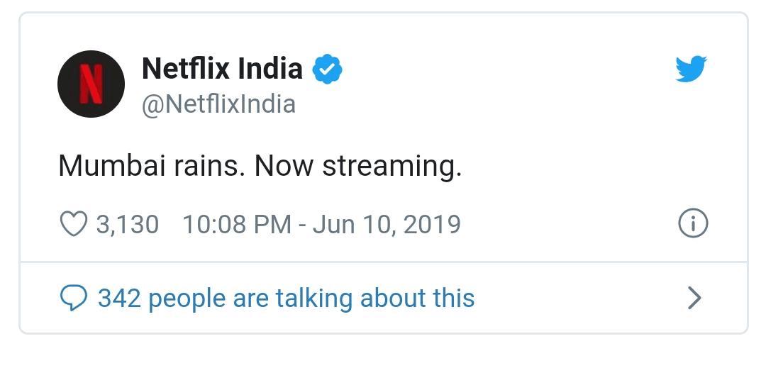 Netflix moment marketing example
