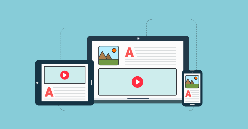 Mix your content for user engagement