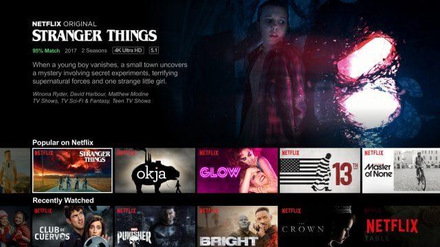Netflix website personalization at user level