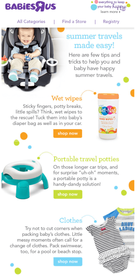 babiesrus-product-advice-email