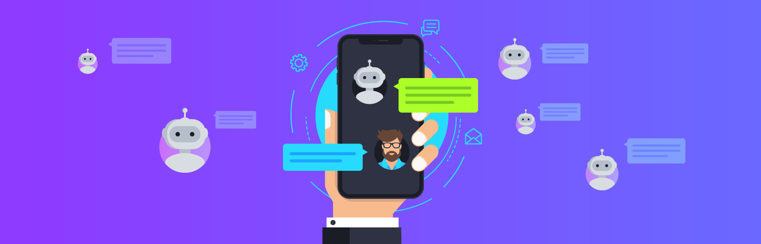 chat-bots replacing human communication