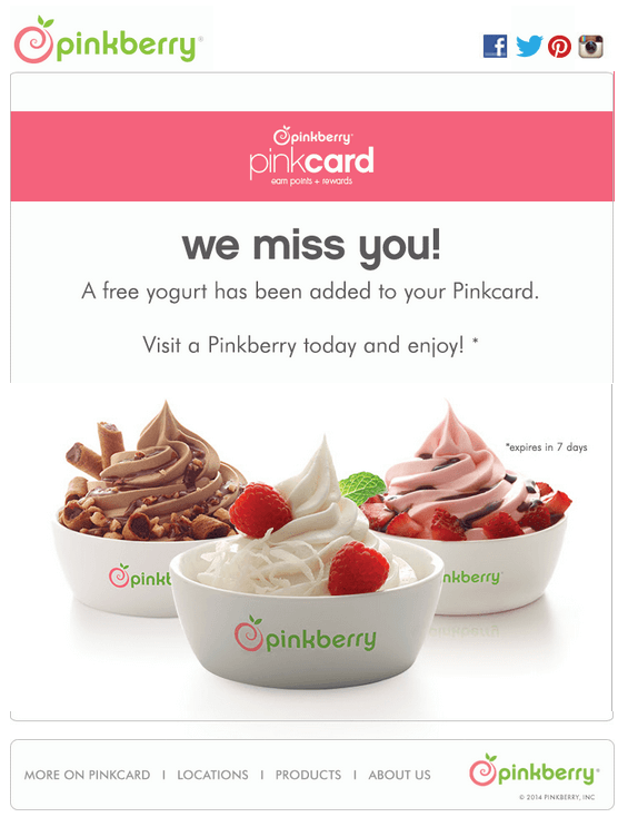 pinkberry-we-miss-you-inactive-customer-retention-campaign