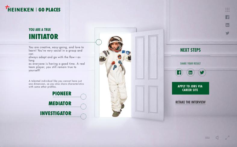 Heineken ad image example 1