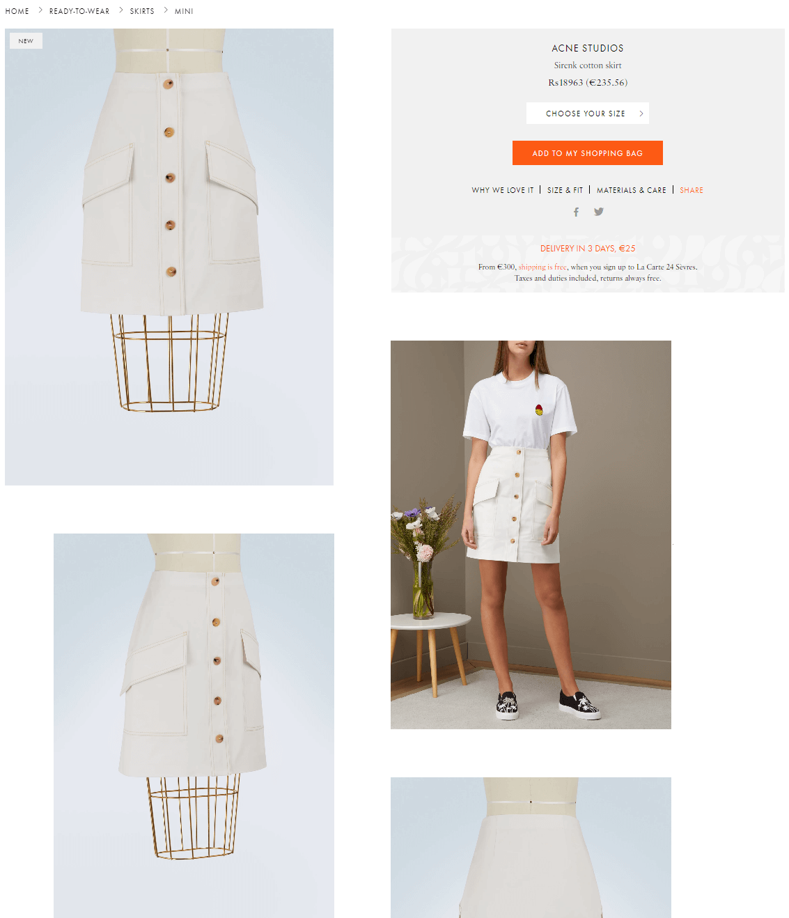 website with better product images and visuals for user engagement