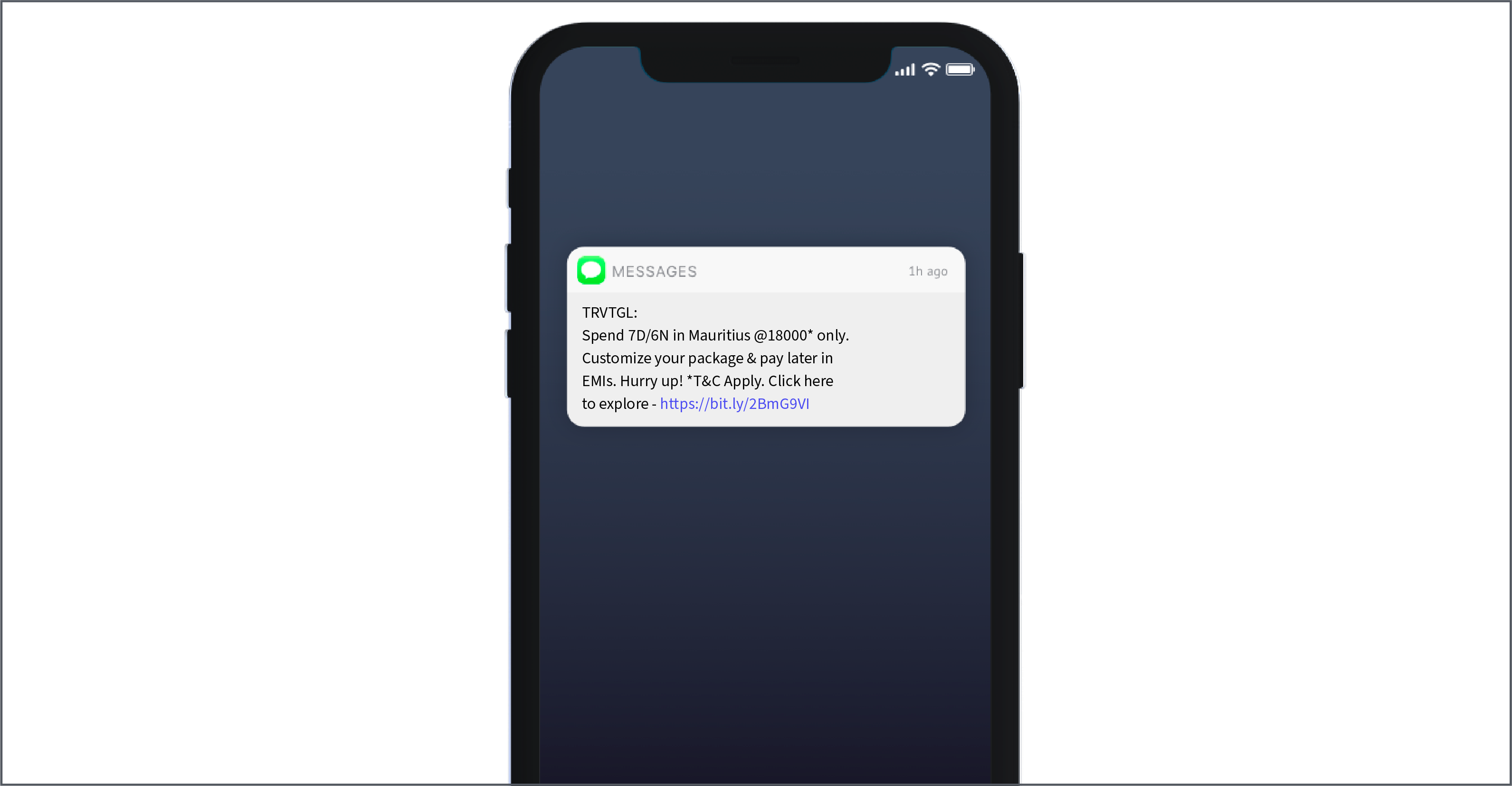 personalized text SMS